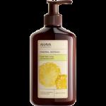 Бархатистый крем для тела тропический ананас/белый персик  AHAVA
